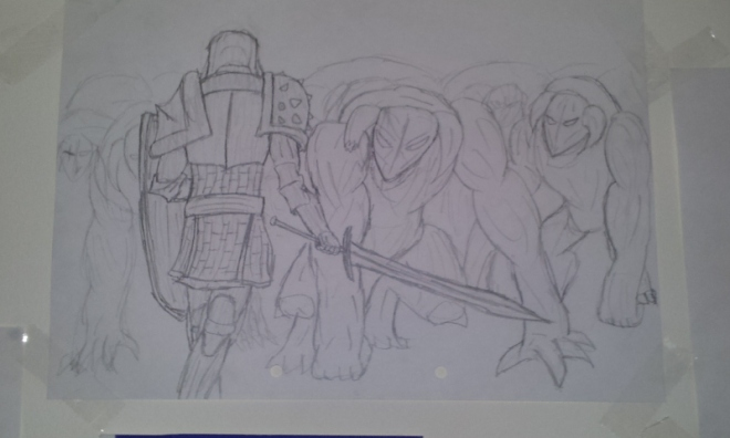 Lone knight